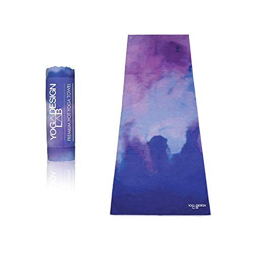 The Hot Yoga Towel. Eco-Friendly, Lightweight, Insanely Absorbent, Non-Slip, Microfiber Towel That Dries in Minutes! Ideal for Bikram, Hot Yoga, Pilates. Machine Washable. (Dreamscape)