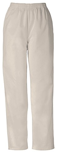 Cherokee Women's Workwear Scrubs Pull-On Pant, Khaki, Medium -