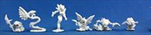 Reaper 77196: Familiars 2 (6) Dark Heaven Bones Plastic Miniatures ()