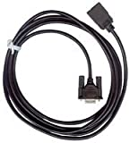 OMRON INDUSTRIAL AUTOMATION CS1W-CN226 CABLE CONNECTOR, CPU TO IBM PC/AT, 2M