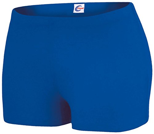 Boy-Cut Briefs Royal Y Small (Cut Boy Cheerleading Briefs)