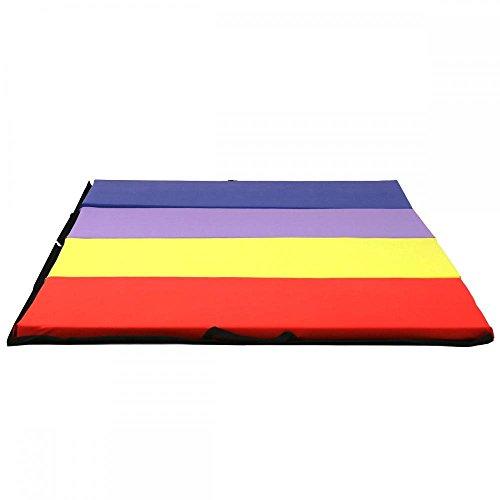BestMassage Folding Gymnastics Gym Exercise Mats 4'x8'x2 Stretching Yoga Mat