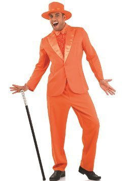 Fun Shack Dumb & Dumber Lloyd Christmas Tuxedo Costume - LARGE by Fun Shack -
