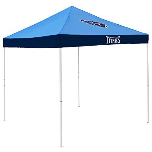 Logo Brands NFL Tennessee Titans Economy Tent Economy Tent, Titan Blue, One Size