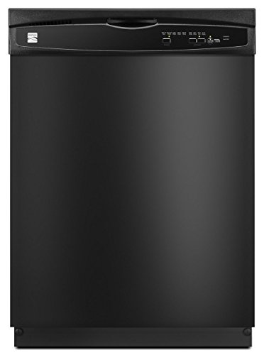 Kenmore 2217389 24″ Built-In Dishwasher, Black