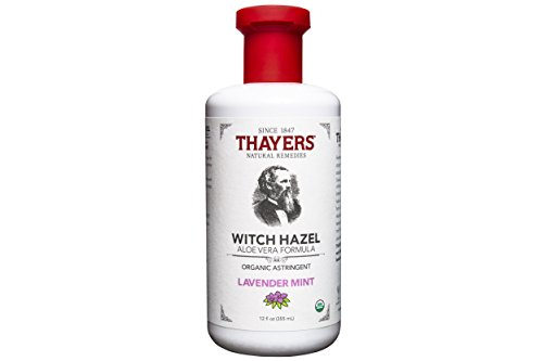 Thayers Organic Lavender Mint Witch Hazel Astringent with Aloe Vera, 12 Ounce - Lavender Mint