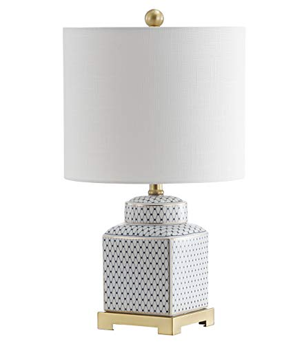Blue Ginger Jar Lamp - JONATHAN Y JYL3043A Cleo 21.5