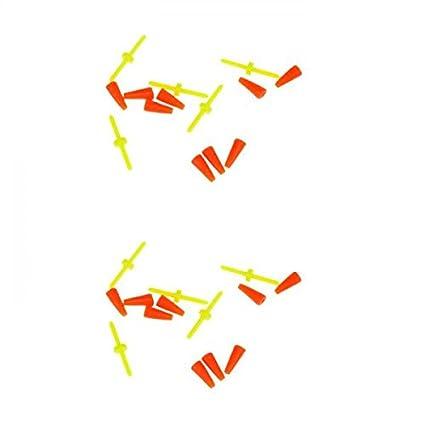 Sharplace 10pcs Tapones de Flotador Fijación Corcho L;inea Accesorio Pesca Pescador