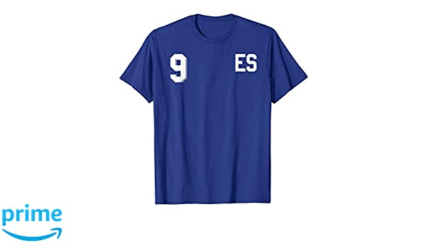 Amazon.com: Retro El Salvador Soccer Jersey Camiseta de Futbol Home 10: Clothing