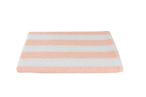 (Luxuriously Oversized Bleach Safe Beach Towel Cabana Stripe- Fibertone by 1888 Mills, Made in the USA)