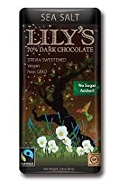 Lilys Swts Lilys Stvia Sea Salt Dk Chocolate 2.8 Oz (Pack Of 12)
