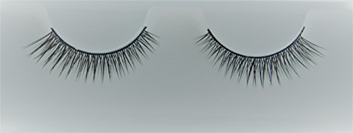 L'CORE Paris Fancy False Eyelashes -Made of 100% Human Hair-Reusable Feathery Eye Lashes for Ladies-Enhance Your Lovely Eyes Long and Thick Eyelash-Easy to Apply-Available in Many Colors (BC48)]()