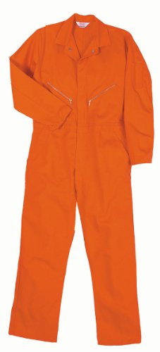 Ghostbusters Jumpsuit (Walls Work Men's Long Sleeve Twill Coverall, Orange, 38/Regular)