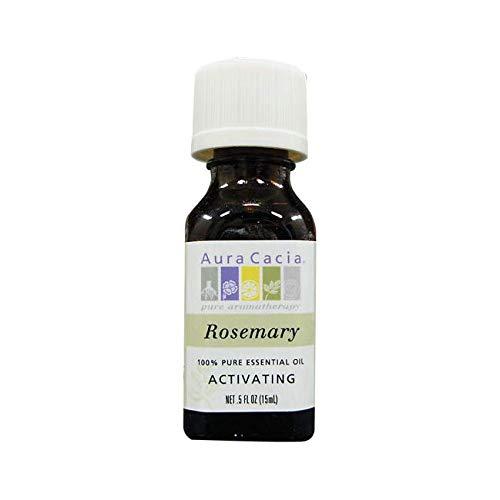 Aura Cacia Pure Essential Oil, Rosemary, 0.5 Fluid Ounce