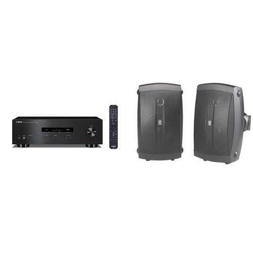 Yamaha R S202BL Receiver NS AW150BL Speakers