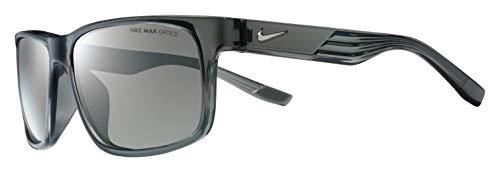 Nike Cruiser Square Sunglasses, Crystal Clear, 59 ()