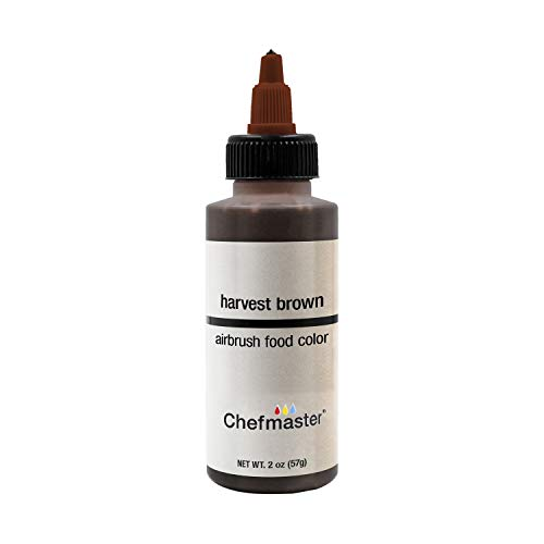Chefmaster by US Cake Supply 2-Ounce Airbrush Cake Food Color Harvest - Cake Harvest