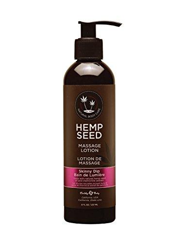 Earthly Body Hemp Seed Massage Body Lotion  8 Fl  Oz     Skinny Dip