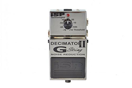 ISP Technologies Decimator II G String Noise Suppressor Pedal by ISP Technologies