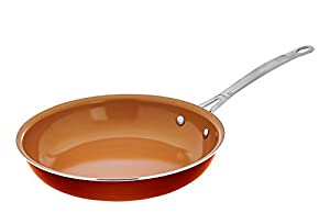 """Gotham Steel Ceramic and Titanium Nonstick 10.25"""" Fry Pan AS SEEN ON TV by Daniel Green"""