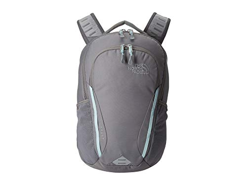 The North Face Women's Women's Vault Backpack Zinc Grey/Windmill Blue One Size (Zinc Grey North Face Backpack)