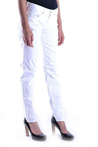 Fiorucci Coton Blanc Femme Jeans MCBI123002O q77wBXH