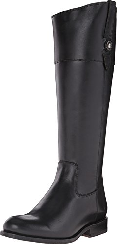 FRYE Women's Jayden Button Tall-SMVLE Riding Boot, Black, 9.5 M US