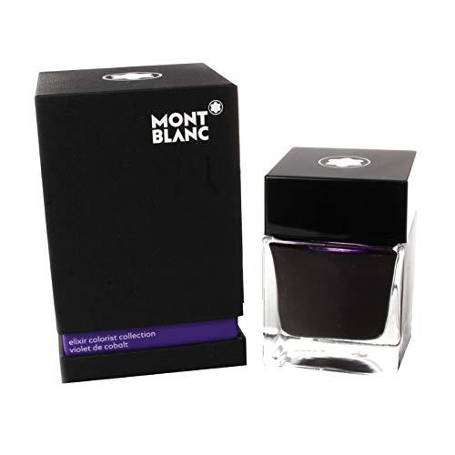 Montblanc Elixir Colorist Collection, Violet De Cobalt, Fountain Pen Ink Bottle 50 ml