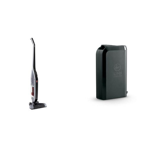 Hoover Linx Cordless Stick Vacuum Cleaner, BH50010 and Hoover LiNX Lithium Ion Battery, BH50000 Bundle