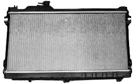 (TYC 1140 Mazda Miata 1-Row Plastic Aluminum Replacement Radiator)