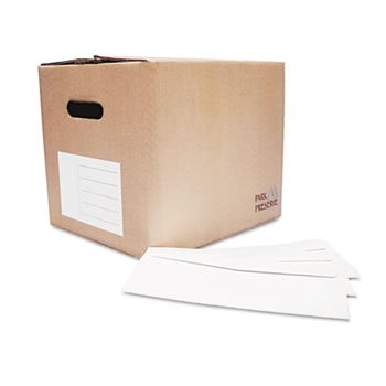Quality Park Redi-Strip Security Tinted Envelope, Contemporary, #10, White, 1000/Box by Quality Park