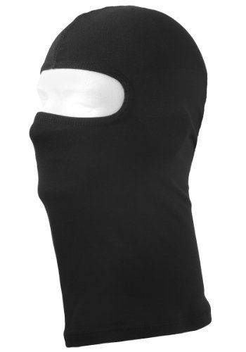 Schampa Silkweight Balaclava (Black, One Size) Size: One Size Fits Most Color: Black, Model: BLCLV027, Car & Vehicle Accessories / Parts