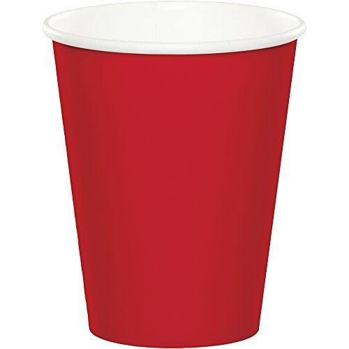 Classic Red, 9 oz Hot/Cold Cup, 24 ct