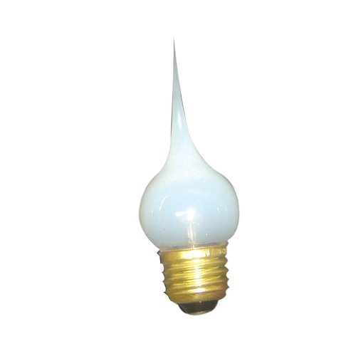 Bulbrite SF/7.5S11 Silicone Dipped 7.5W  E26 Chandelier Bulb, Medium Base