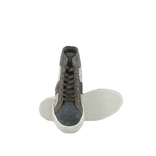 ALEXANDER Sneakers Multicolor Hi 1005A5O Men's SMITH Suede Top Rx1wSrRq0