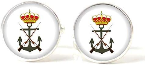 Gemelos Magglass Infanteria de Marina Española: Amazon.es: Ropa y accesorios