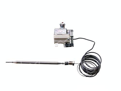 EGO Thermostat de sécurité 55.19545.010Convient pour température, Giga, Diamond, bertos, alpeninox Max. 235°C modulaire 1broches Modular