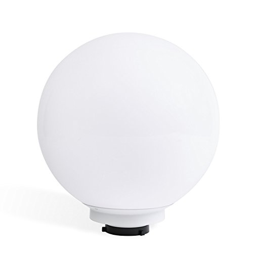 PhotoSEL Spherical Diffuser Ball, 19.7-Inch, White, Bowens S-Type Mount, Studio Lighting Flash Light, FRA50 by PhotoSEL