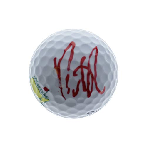 Signed Golf Ball Masters - Patrick Reed Autographed Signed Masters Golf Ball - PSA/DNA Authentic
