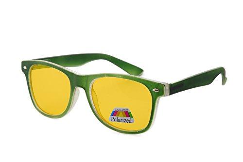 hombre Gafas Green Polarized para morefaz de Rubi sol IwRwS