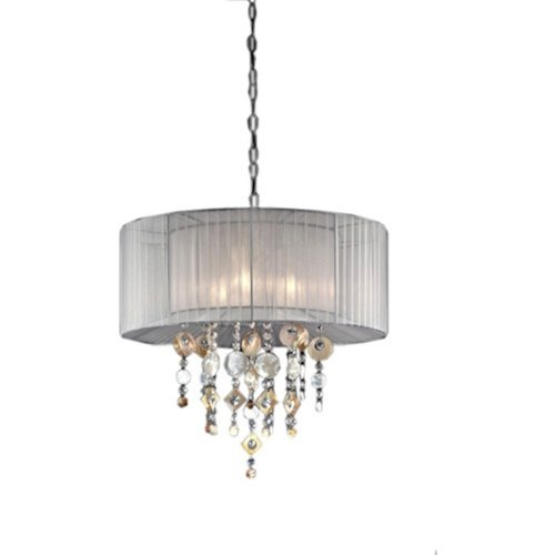 Ore International, Inc Ore International K-5136H Moon Jewel Ceiling Lamp, 21″W