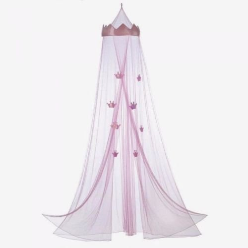 Bed Canopy Princess Girl Child Pink Mesh Net