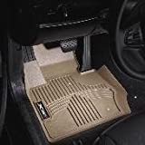 bmw floor mats x5 2013 - BMW 3-layer thermoplastic all weather floor liner; X5 E70 3rd row - BEIGE