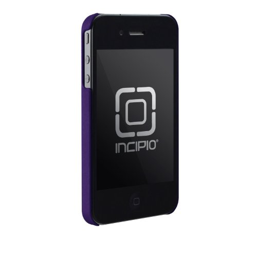 Incipio iPhone 4/4S feather Ultralight Hard Shell Case - 1 Pack - Carrying Case - Retail Packaging - Paparazzi Purple