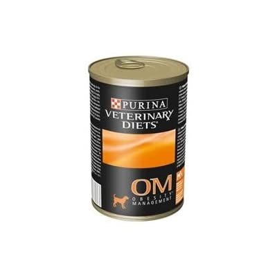 Purina Veterinary Diets Dog Food OM [Overweight Management] (12 cans)