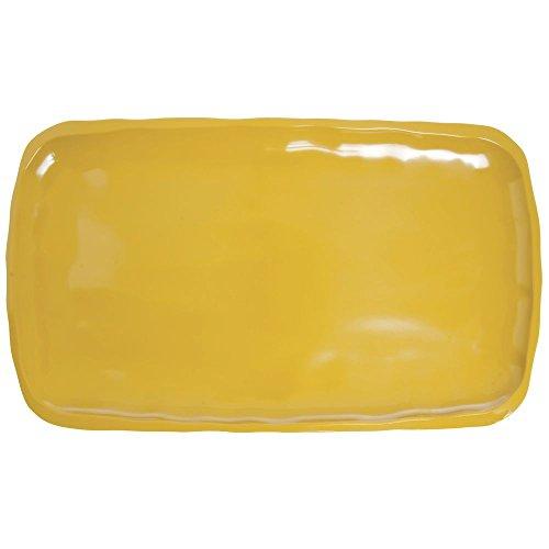 Mustard Yellow Serving Platter Melamine Displayware Platter - 14