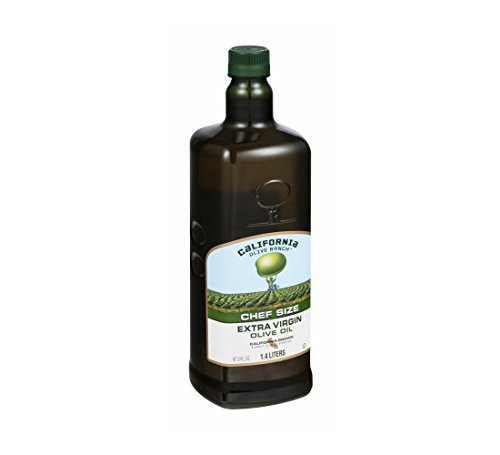 California Olive Ranch, Everyday Extra Virgin Olive Oil, First Cold Press, Chef Size,(47.3 Fl Oz)