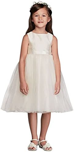 Flower Communion Dress Ribbon OP218