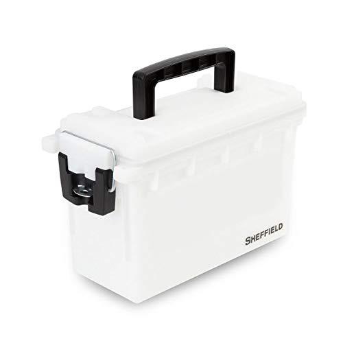 Sheffield 12634 Field Box- Artic White (White Mini Boxes)
