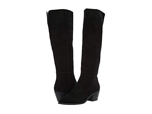 Steve Madden Women's Largo Over The Knee Boot, Black Suede, 6 M US